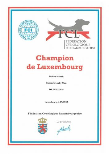 Luxembourg Champion
