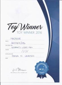 Toy Winner 2016